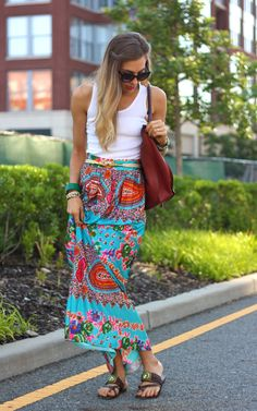 Style and Pepper: Concrete Catwalk // Maxi in the Morning