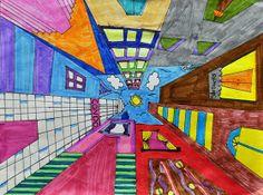 artisan des arts: Cityscapes looking up - grade six