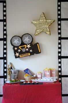 Oscar Party Decorations - The Little Things DIY