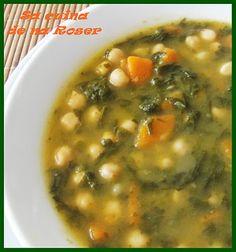 Guiso de garbanzos con espinacas * Garbanzo Stew with Spinach