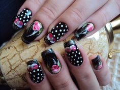 32 Simple And Cute Nail Art Designs