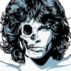 Jim Morrison illustration by Mel Marcelo Jim Morrison, Pop Art, Mundo Meme, Fantasy Anime, Digital Foto, Artwork Images, Vector Portrait, Arte Pop, Portrait Illustration