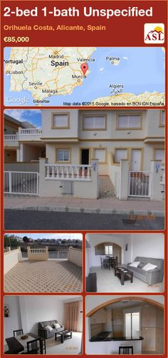 Unspecified for Sale in Orihuela Costa, Alicante, Spain with 2 bedrooms, 1 bathroom - A Spanish Life Alicante Spain, Family Bathroom, Ground Floor, Costa, Spanish, Flooring, Mansions, Bedroom, House Styles