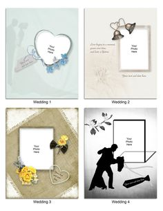 $6.00 Let your picture tell the story. See details at https://www.etsy.com/listing/265345752/digital-photo-matte-set-of-8-wedding?ref=shop_home_active_2