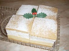 Medový krémeš, recepty, Zákusky | Tortyodmamy.sk Sweet Tooth, Dessert Recipes, Food And Drink, Sweets, Candy, Cheese, Cookies, Baking, Crack Crackers