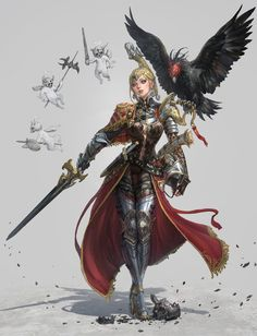 http://www.deviantart.com/art/eagle-knight-673429697