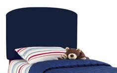 Lauren'S Twin Kids Headboard By Skyline Furniture In Navy Cotton by Skyline Furniture, http://www.amazon.com/dp/B002L15NBC/ref=cm_sw_r_pi_dp_hUxIrb1NY30FQ