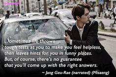 Misaeng quotes: Im Si Wan as Jang Geu-Rae (ep19)