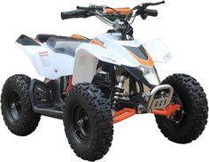 Go-Bowen XW-EA18-W White Sahara X Kids ATV