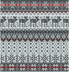 Risultati immagini per fair isle knitting free charts Fair Isle Knitting Patterns, Knitting Charts, Knitting Stitches, Knitting Designs, Knitting Projects, Motif Fair Isle, Fair Isle Chart, Fair Isle Pattern, Cross Stitch Embroidery