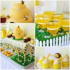 Mother to Bee / Bumble Bee Party Theme