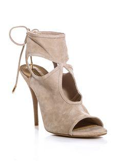 aquazzura AQZ-E-SEXYTHING-SUED shoes NUDE