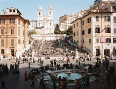 When you visit #Rome, be sure to sit on the Spanish Steps and take in the incredible street scene, architecture and culture of this amazing city.