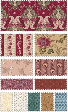 The Era of Jane Collection by Sue Daley for Penny Rose Fabrics—Subscribe to our newsletter at http://www.rileyblakedesigns.com/newsletter/