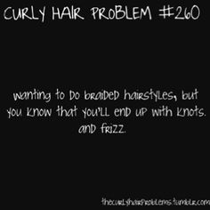 curly hair problems. :/