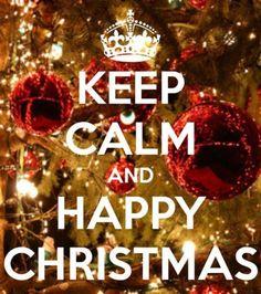 #keep #calm #and #happy #christmas