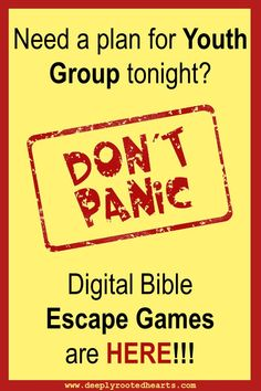 Situation free bible games for teens recommend