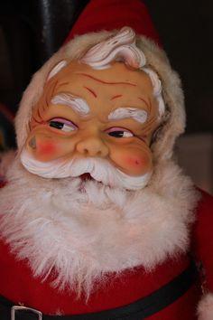 My favorite vintage Santa, flaw and all