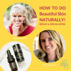 "Did you miss it? I interviewed Alicia Muchow with Annmarie Skin Care. Catch the Replay. She shared about the 3-Step Process that sets Annmarie Skin Care apart along with so many pearls about #skincareroutine and how to take care of our skin in the best way possible for glowing, radiant skin even with #acne, fine lines and wrinkles! Be sure to download ""The Top 10 WORST Beauty Ingredients to Avoid."" Alicia shares a very special offer Go & Glow Duo skincare set at an incredible one-time price… Hormone Balancing, Health Challenge, Radiant Skin, Natural Solutions, Replay, Serum, The Balm, Glow, Skincare"
