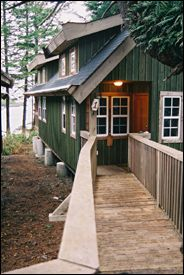 The Cabins Ucluelet at Terrace Beach. Great place to stay while you visit