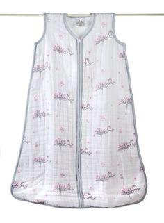 aden + anais Cozy Muslin Sleeping Bag, For The Birds, Owl, Medium - $34.77