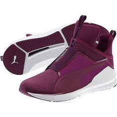 72a691769b3 Puma Magenta Purple Fierce Quilted Women s Training Shoes via