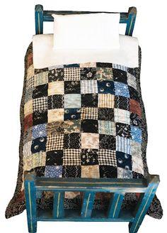 Miniature quilt- omg its bewdiful!!!!!