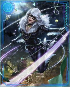 This is a helper site for the Mobage game Marvel War of Heroes Comic Book Characters, Fantasy Characters, Marvel Cards, Black Cat Marvel, Fantasy Art Women, Marvel Women, Weird Art, Hero Arts, Catwoman