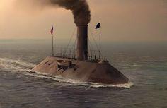 CSS Virginia, circa 1862.