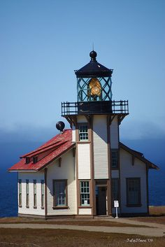 Point Cabrillo Light Caspar, CA.  The restoration on this lighthouse is incredible.  It's one of the few lighthouses that still has a working fresnel lens.