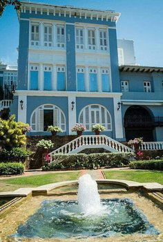 Palacio Santa Catalina en San Juan, Puerto Rico.
