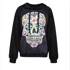 Erlking Women's Punk Rock Printing Funny Skull Hooded Sweatshirts Erlking http://www.amazon.com/dp/B00PXXBMD8/ref=cm_sw_r_pi_dp_voE.ub16XPB1A