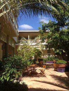 Courtyard at Camana Bay, Grand Cayman.
