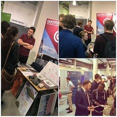 We attended #GeoCareersFair2017 to talk to students about the career paths #GroundEngineering could offer them. It was fantastic to hear so many people talk with a burning passion for their subject. Thank you to everyone who dropped by our stand! #careers #students #plymouth #engineering