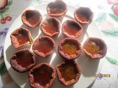 Devaneios Culinários da Tiazinha: Queques de pera abacate co doce de fisalis e gelei...
