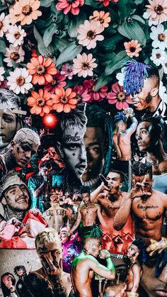 xxxtentacion & lil peep wallpaper from r/lilpeep had to share it 💔 Rapper Wallpaper Iphone, Rap Wallpaper, Aesthetic Iphone Wallpaper, Aesthetic Wallpapers, Wallpaper Backgrounds, Marshmello Wallpapers, Photographie Street Art, Lil Peep Hellboy, Rapper Art