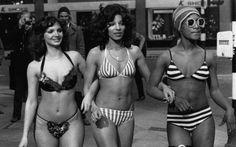 Photos: Celebrate the Anniversary of the Bikini Bikini Vintage, Ursula Andress, Bikini Clad, Swim Sets, Polka Dot Bikini, Bikinis, Swimwear, Brigitte Bardot, Bikini Photos