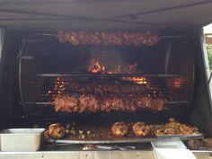 BBQ chicken in Guadalajara, Mexico