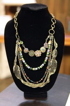 Create distinctive jewelry pieces and learn a variety of beading techniques in the online class Beading with Wire, Chain & Leather.