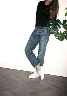 Boyfriend Jeans and Stan Smiths | Streetstyle