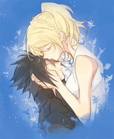 "Noctis and Luna ""Blessed Stars of Life and Light"" Noctis Final Fantasy, Final Fantasy Funny, Final Fantasy Type 0, Final Fantasy Artwork, Fantasy Series, Noctis And Luna, Pokemon, Fantasy Landscape, Cute Anime Couples"