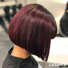 Envie de changement ? La couleur de cheveux Acajou ! 👌 Cette coloration aux nuances chaudes et rouges est la tendance qui s'adapte particulièrement aux cheveux châtains ou bruns. Une couleur étincelante, pleine de brillance qui vient sublimer ce coiffage, un véritable coup d'éclat ❤.  Vous avez envie de changement ? N'hésitez-pas à consulter nos experts en coloration ☎ +41 (0)22 320 52 52  #Coiffure #Coiffage #Coloration #Balayage #CoupedeCheveux #LaBiosthetique #Suisse #Geneve #Geneva Rides Front, Hair Extensions, Hair Cuts, Hair Color, Long Hair Styles, Beauty, Hairstyles, Blog, Straight Hair