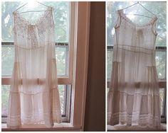 Vintage Women's White Cotton Eyelet lace par dirtybirdiesvintage, $85.00