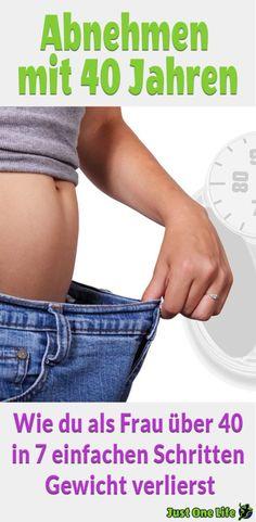 Abnehmen mit 40 Jahren – Wie du als Frau über 40 in 7 einfachen Schritten Gewicht verlierst