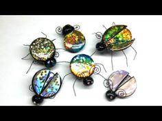 ▶ Polymer clay(Fimo) Jewel Bugs - Tutorial - YouTube