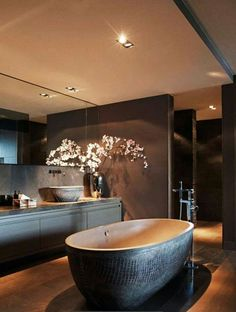Ok.. Changed mind... I need THIS bathroom in my life!