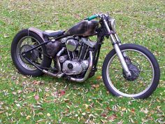 cool stuff from Den Of Sportsters Custom Motorcycle Parts, Bobber Custom, Custom Harleys, Bobber Bikes, Bobber Motorcycle, Vintage Motorcycles, Custom Motorcycles, Custom Bikes, Bobbers