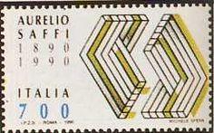 "1990 - ""Saffi Verde"" - Centenario della morte di Aurelio Saffi (1819-1890)"