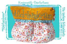 Kosmetiktasche,Schminktasche, Kulturbeutel von Die tapfere Schneiderin, handmade with love ... by Viola auf DaWanda.com