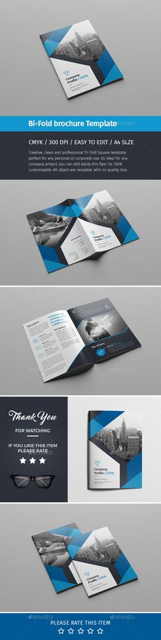 Corporate Bi-fold Brochure Template PSD. Download here: https://graphicriver.net/item/corporate-bifold-brochuremultipurpose-06/17499336?ref=ksioks